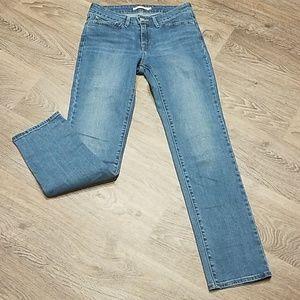 Levi Strauss 712 Slim Jeans Size 28 Unisex